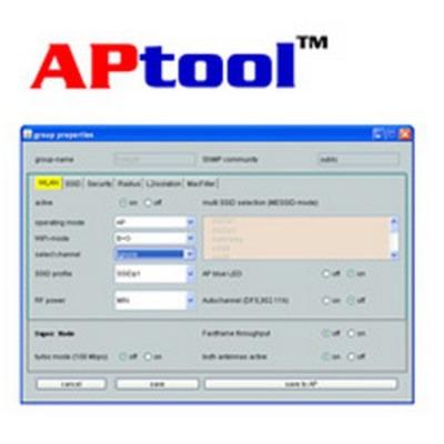 Zyxel APtool 10 Nodes software