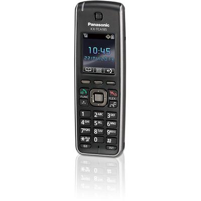 Panasonic telephone headset: KX-TCA185 - Zwart