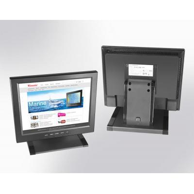 "Winsonic 30.734 cm (12.1"") LCD monitor, 1024 x 768, LED 350 nits, VGA input Public display - Zwart"