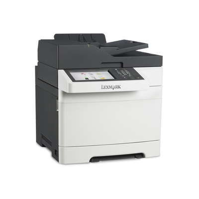Lexmark multifunctional: CX510de - Zwart, Wit