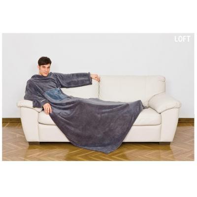 Kanguru blanket: Deluxe Loft - Grijs