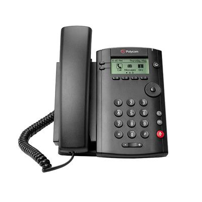 POLY VVX 101 IP telefoon - Zwart