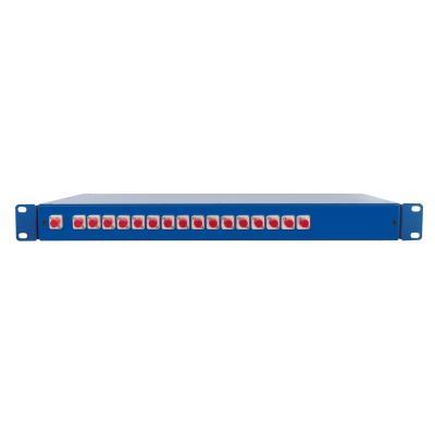 Spaun SOV 19 1/16 FC/PC Fiber optic adapter - Blauw
