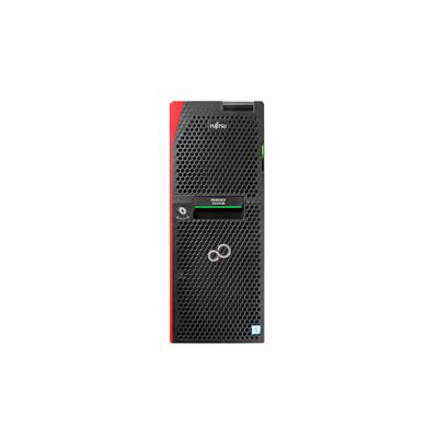 Fujitsu PRIMERGY TX2550M5 Server - Zwart,Rood