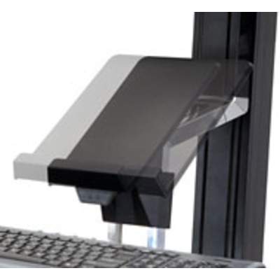 Ergotron ordner: Tablet/Document Holder for WorkFit-S - Zwart