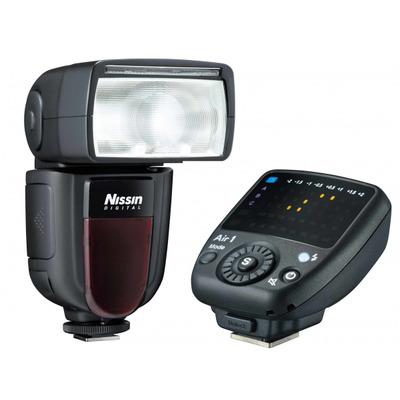 Nissin camera flitser: Di700A + Commander Air 1 - Zwart