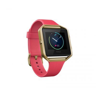Fitbit sporthorloge: Blaze - Goud, Roze