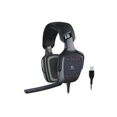 Logitech headset: G35 - Zwart