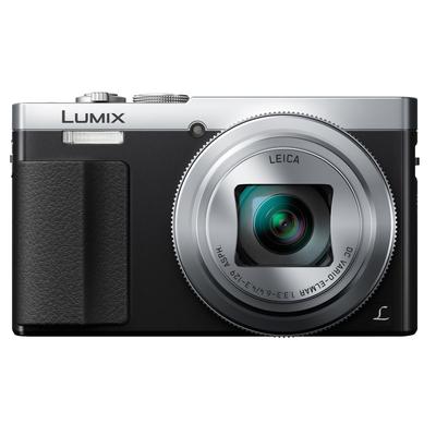 Panasonic digitale camera: Lumix DMC-TZ70 - Zwart, Zilver