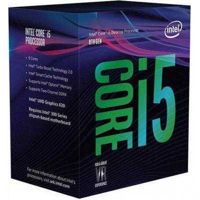 Intel processor: Core Intel® Core™ i5-8600K Processor (9M Cache, up to 4.30 GHz)