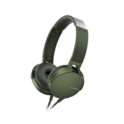 Sony XB550AP Headset - Groen