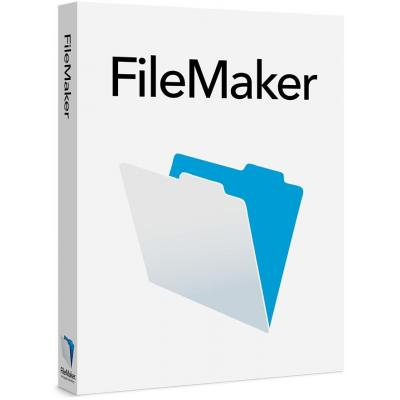 Filemaker software: 16, License (1 Year), 50 Users, GOV, Corporate, Licensing for Teams (FLT), Windows/Mac