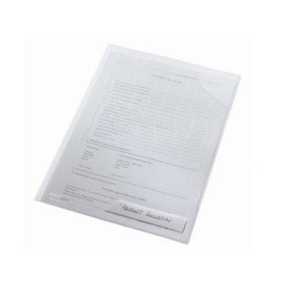 Leitz CombiFile Standard Folder, 5 Pack Stofklepmap - Transparant