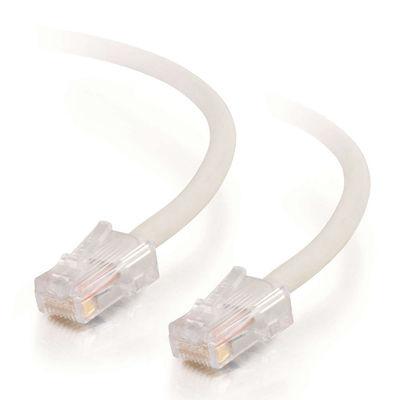 C2G Cat5E Assembled UTP Patch Cable White 1.5m Netwerkkabel