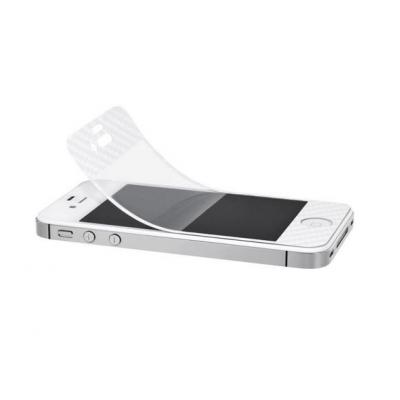 Artwizz screen protector: ScratchStopper Carbon iPhone 5 - Transparant, Wit