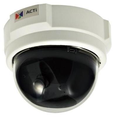 "Acti beveiligingscamera: 1MP, 720p, 30 fps, 1/4"" CMOS, Fast Ethernet, PoE, 3.79 W, 292 g - Wit"