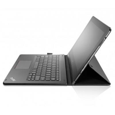 Lenovo mobile device keyboard: ThinkPad Helix Folio Keyboard US/Int - Zwart, QWERTY