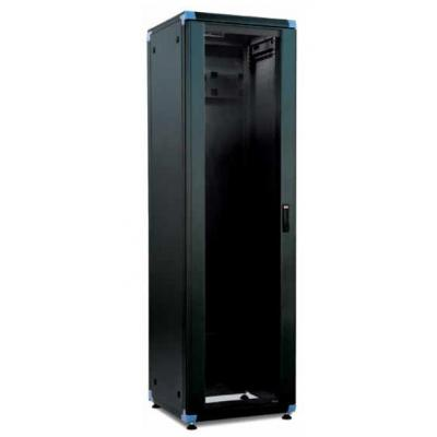 """Retex LOGIC-2, 600 mm wide, 19"""", Black Rack - Zwart"""