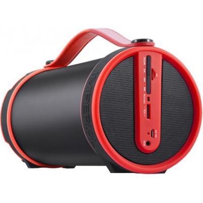 Telestar draagbare luidspreker: IMPERIAL BEATSMAN - Zwart, Rood