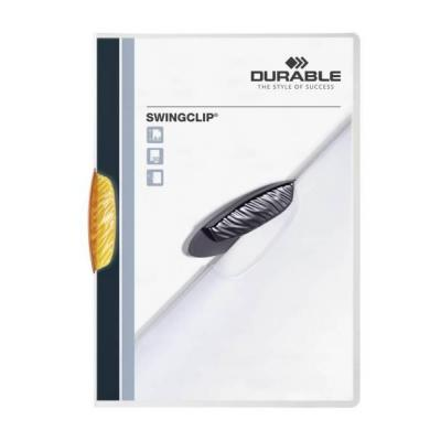 Durable Swingclip Stofklepmap - Oranje
