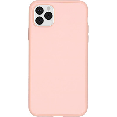 SolidSuit Backcover iPhone 11 Pro Max - Blush Pink - Roze / Pink Mobile phone case