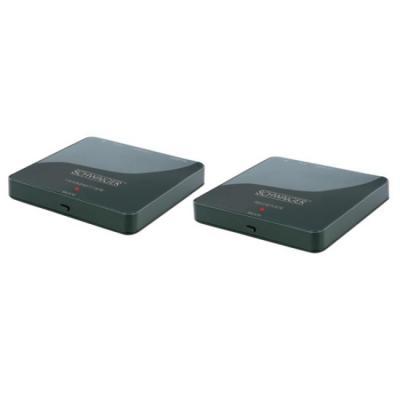 Schwaiger AV extender: HDFS100 511 - Zwart
