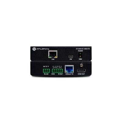 Atlona UHD-EX-100CE-RX AV extender - Zwart