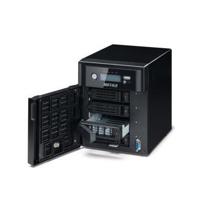Buffalo NAS: TeraStation 5400 4TB NAS 4x1TB RAID - Zwart