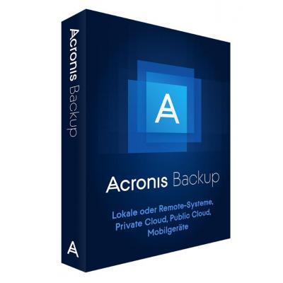 Acronis backup software: Backup 12.5