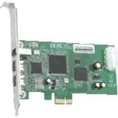 Dawicontrol DC-FW800 FireWire PCIe Hostadapter Interfaceadapter