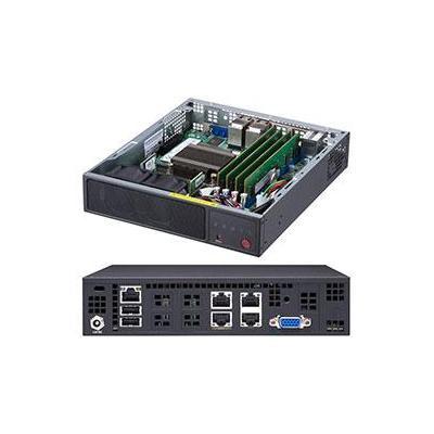 Supermicro SuperServer E200-9A Server barebone - Zwart
