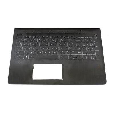HP Top cover/keyboard For Pavilion 15-cb black and white models notebook reserve-onderdeel - Wit, Zwart