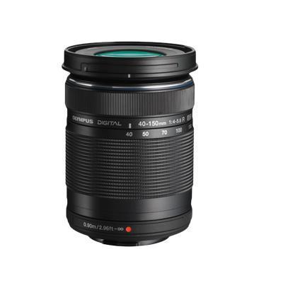 Olympus camera lens: M.ZUIKO DIGITAL ED 40‑150mm 1:4.0‑5.6 R - Zwart