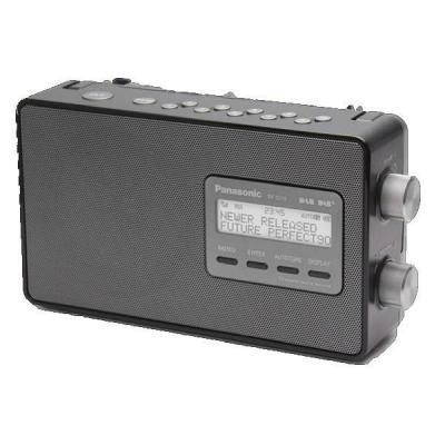 Panasonic radio: RF-D10 - Zwart