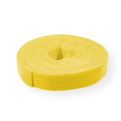 Value Cable Tie Roll, 10mm, yellow, 25 m Kabelbinder - Geel