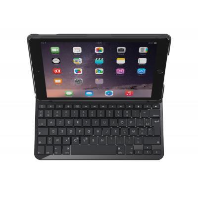 Logitech mobile device keyboard: Slim Folio - Zwart, AZERTY