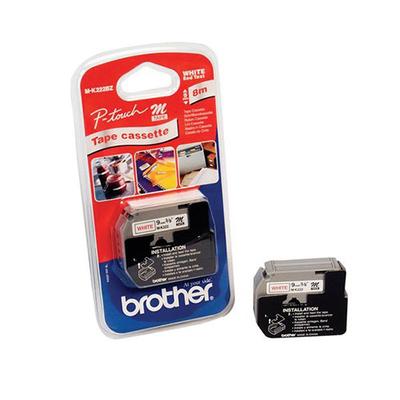 Brother M-K222B labelprinter tape
