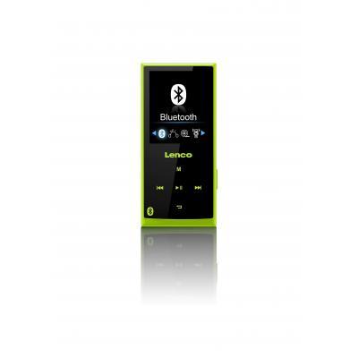 Lenco MP3 speler: Xemio 760 BT 8GB - Zwart, Groen