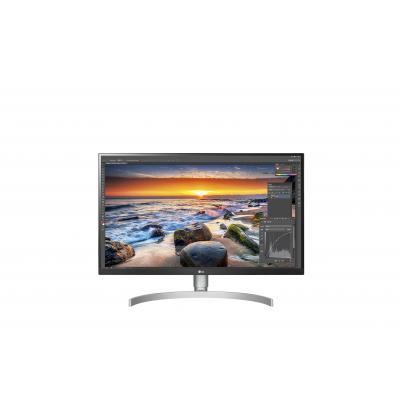 """LG 27UK850-W  27"""" 4K UHD HDR Monitor - Zwart,Wit"""