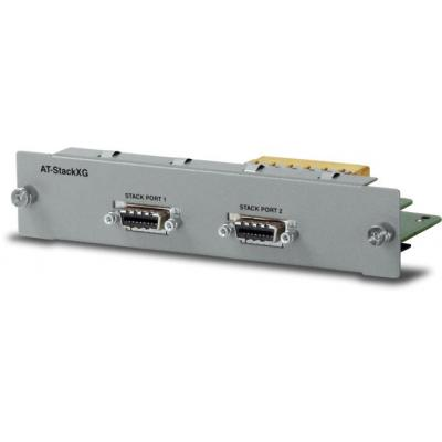 Allied Telesis Expansion module with one StackXG/0.5-00 cable included Netwerk switch module