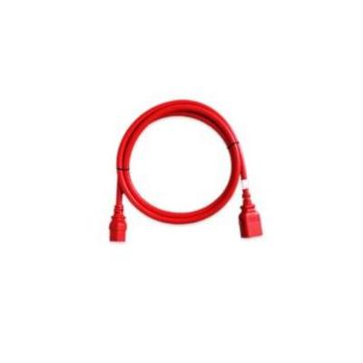 Raritan C19/C20, 16 AWG, 0.5m Electriciteitssnoer - Rood