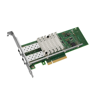 Intel netwerkkaart: X520-DA2 - Groen, Zilver