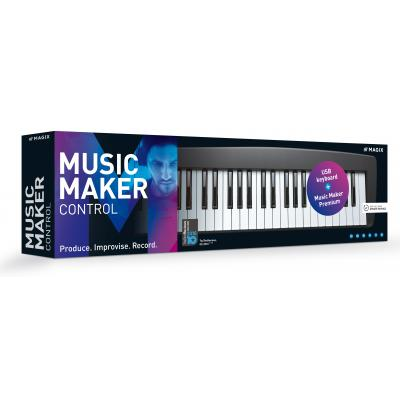 Magix audio software: Magix, Music Maker Live Control (incl. keyboard)
