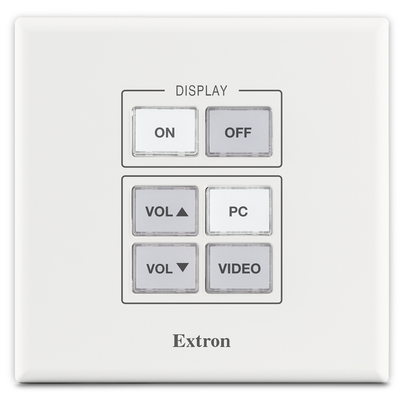 Extron MLC Plus 50 - Zwart, Wit