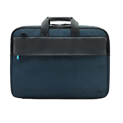 Mobilis Executive 3 Laptoptas - Zwart, Blauw