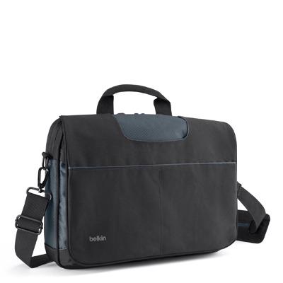 """Belkin 13"""" Messenger Bag Black/Gray Laptoptas"""
