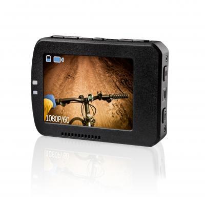 Veho : Muvi K-Series Handsfree Camera Removable LCD Screen - Zwart
