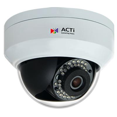 ACTi Z91 Beveiligingscamera - Zwart, Wit