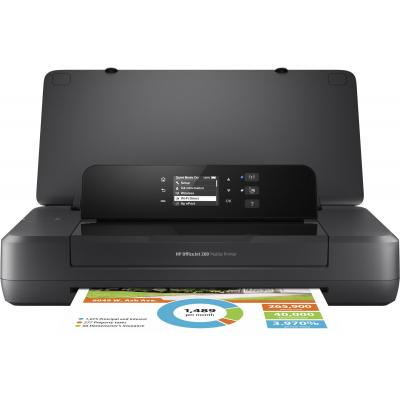 Hp inkjet printer: Officejet 200 Mobile - Zwart, Cyaan, Magenta, Geel
