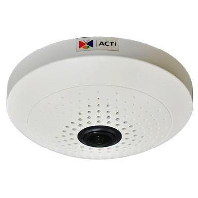 "Acti beveiligingscamera: 10MP, 1/3.2"" CMOS, 6 fps, 3648 x 2736, 0.05 lx B/W, 0.1 lx Color - Zwart, Wit"